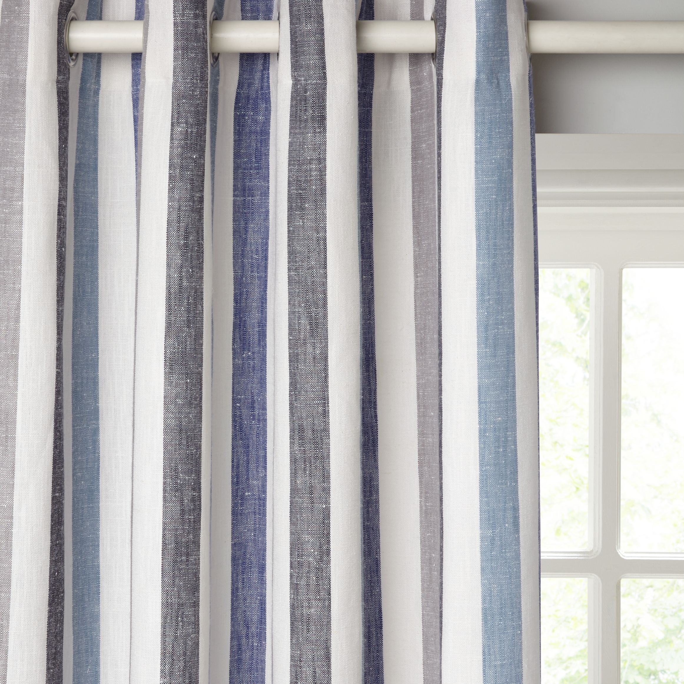 home today overstock panel pair curtain blend ati curtains with grommet gray top free product shipping linen garden branches