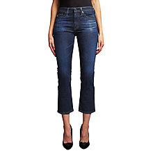Buy AG The Jodie Mid Rise Cropped Jeans, 2 Years Beginnings Online at johnlewis.com