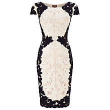 Buy Phase Eight Cornelia Tapework Dress, Navy/Pearl Online at johnlewis.com