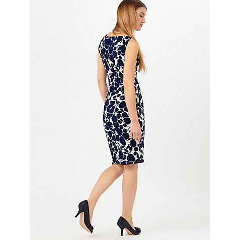 Buy Phase Eight Hailey Dress, Navy/Ivory Online at johnlewis.com