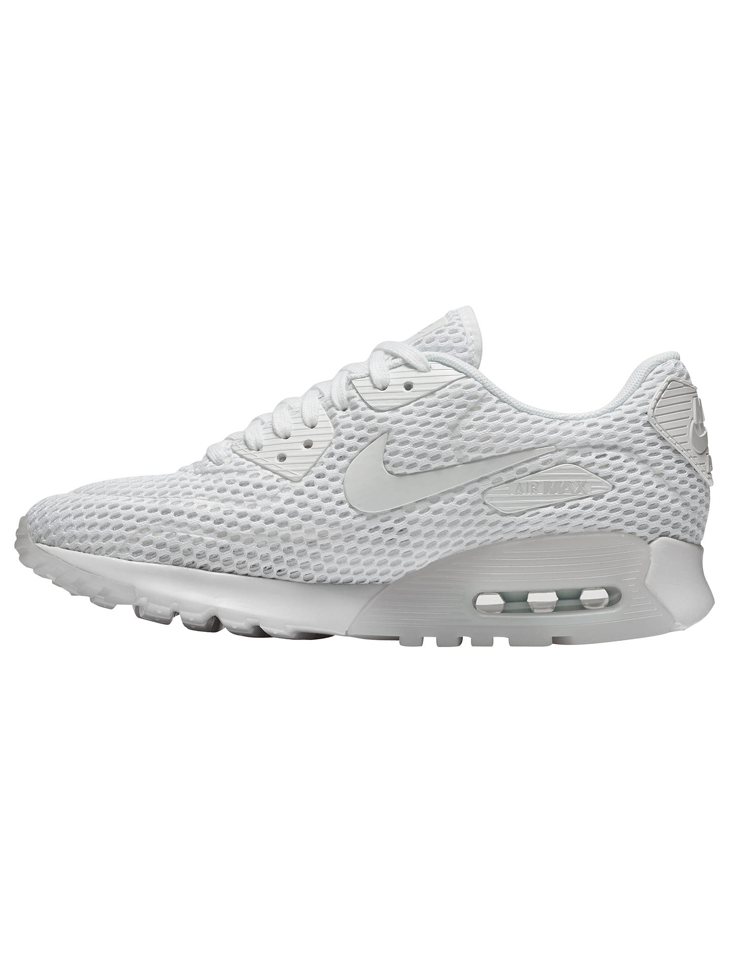 Nike Air Max 90 Ultra BR Women's Trainers, WhitePure
