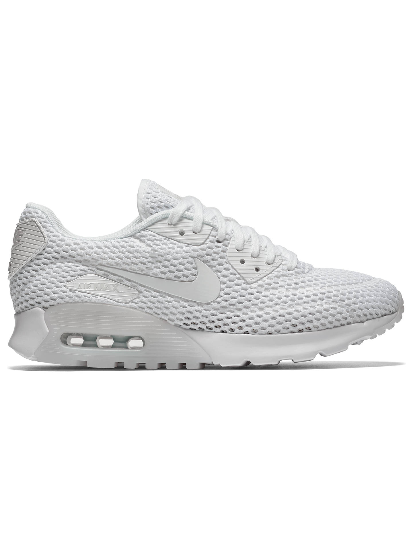 the best attitude 278f3 cb68c Buy Nike Air Max 90 Ultra BR Women's Trainers, White/Pure Platinum, 4 ...