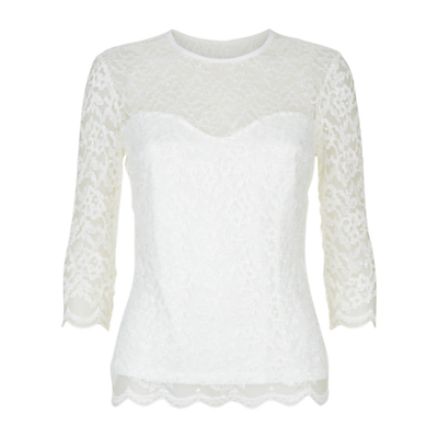 Product photo of Damsel in a dress bern lace top