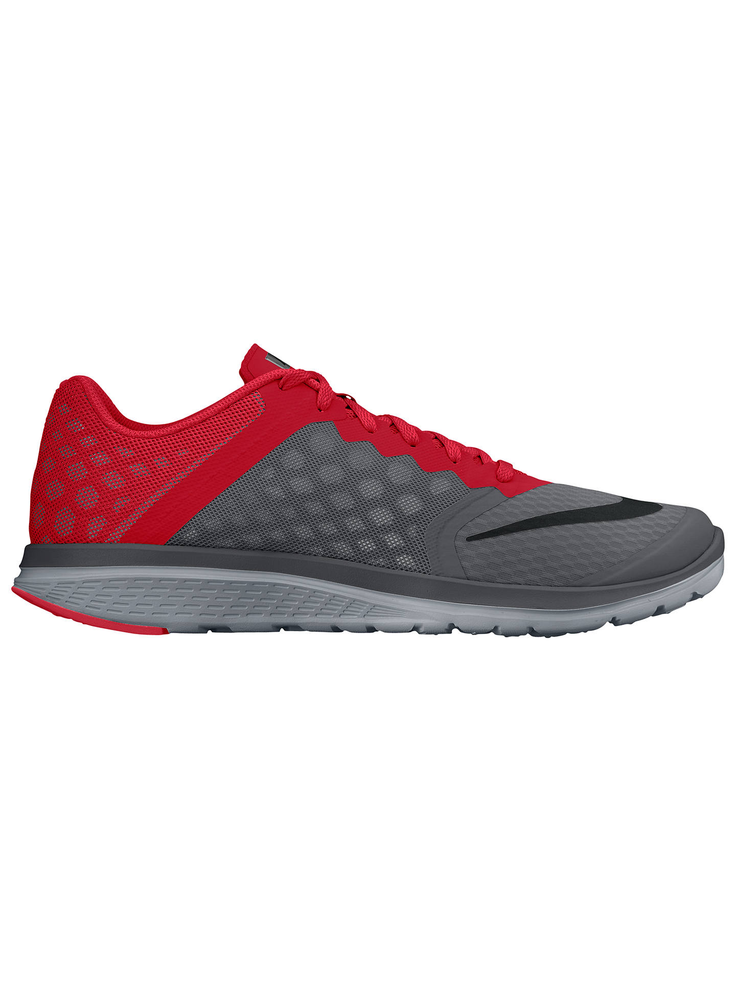 check out 1eb50 6e1cf Buy Nike FS Lite Run 3 Men s Running Shoes, Grey Red, 8 Online ...