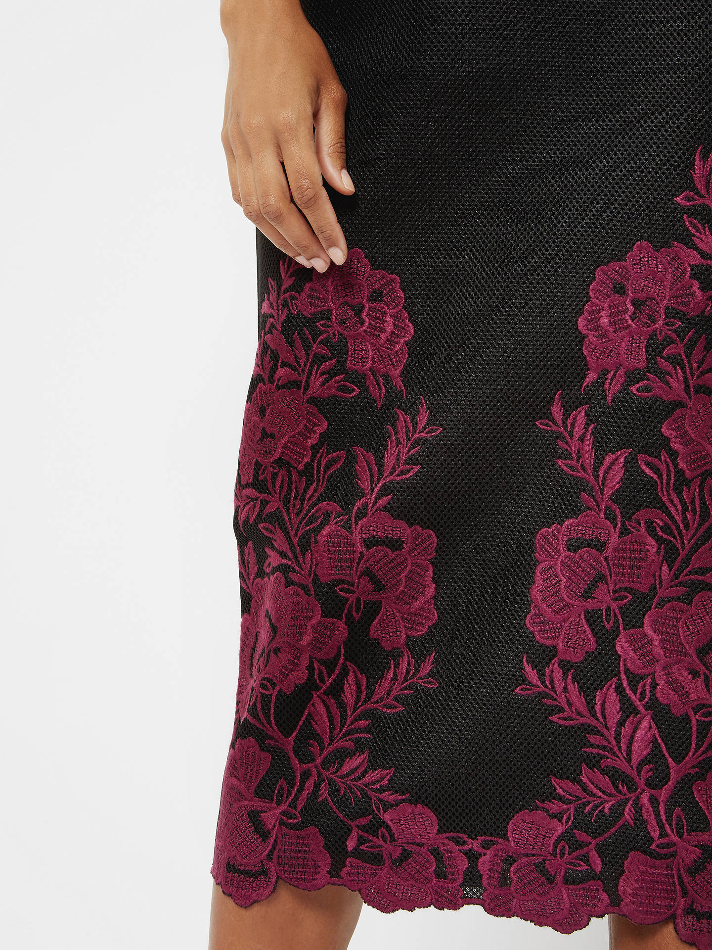 3a5782d947da Buy Ted Baker Embroidered Mesh Lace Skirt