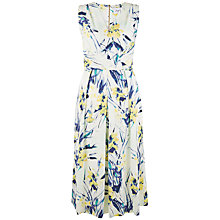 Buy Closet Cross Front Floral Midi Dress, Multi Online at johnlewis.com