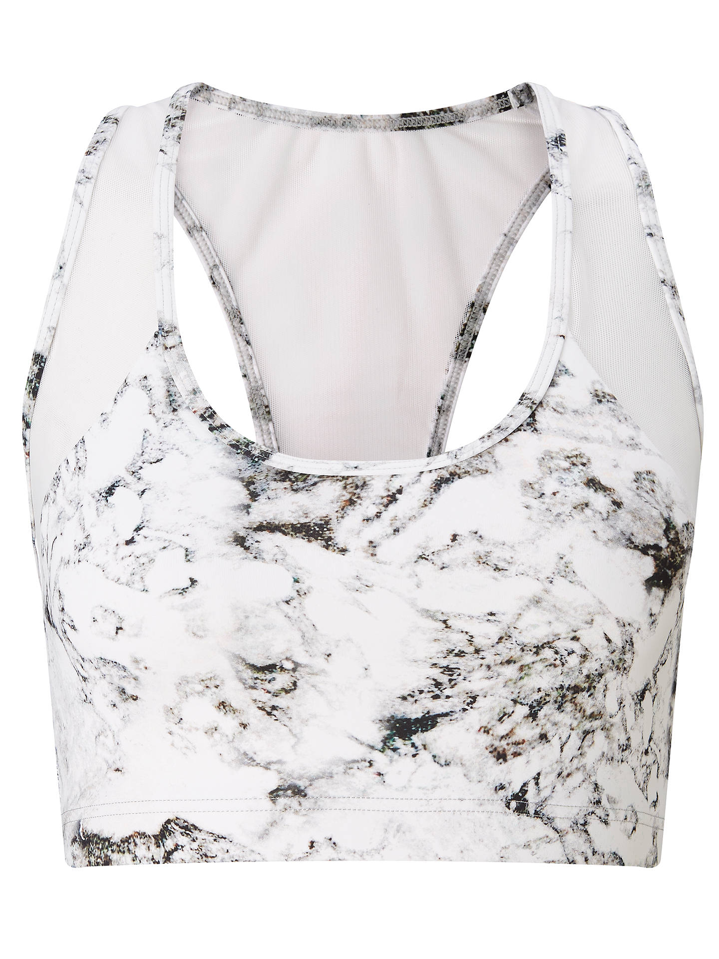 BuyVarley Gill Crop Top, Marble, XS Online at johnlewis.com