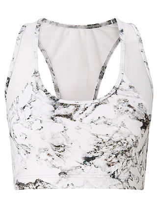 Buy Varley Gill Crop Top, Marble, XS Online at johnlewis.com