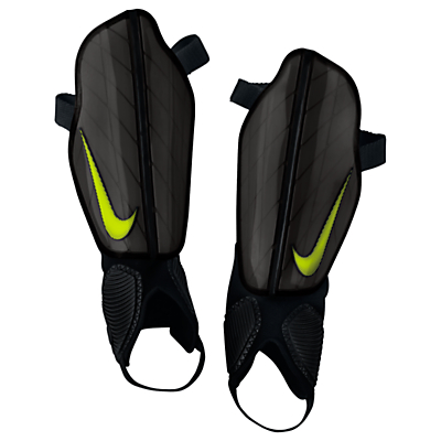 Nike Protegga Shin Pads, Black/Volt
