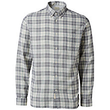 Buy Selected Homme Check Shirt, Green Online at johnlewis.com