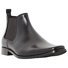 Buy Dune Arkwright Leather Chelsea Boots Online at johnlewis.com