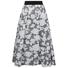 Buy Damsel in a dress Floral Corset Skirt, Black/Ivory Online at johnlewis.com