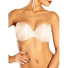 Buy Chantelle Irresistible Strapless Bra, Cappuccino Online at johnlewis.com