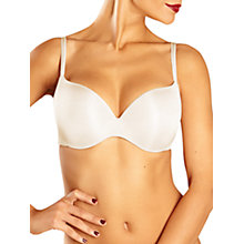 Buy Chantelle Irresistible T-Shirt Bra, Ivory Online at johnlewis.com