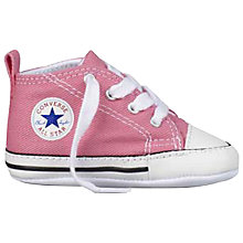 Buy Converse Children's First Star Trainers Online at johnlewis.com