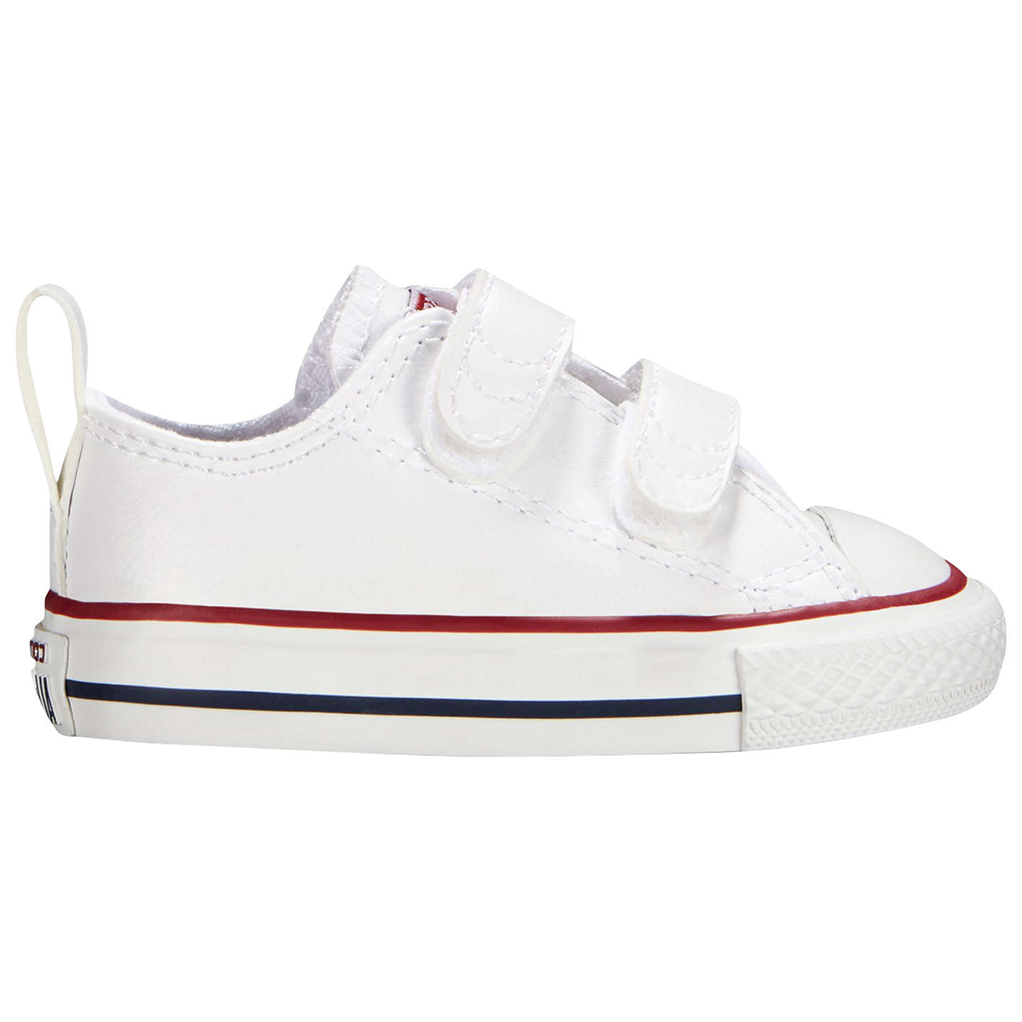 Converse - White 'Chuck Taylor' Rip Tape trainers - UK 7 (RRP£50)