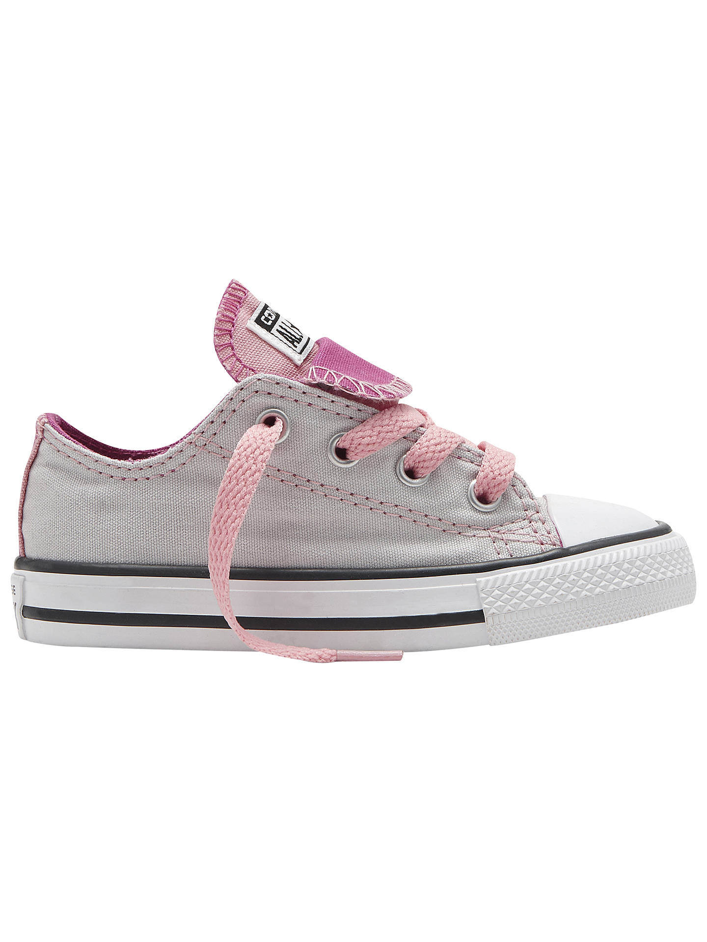 8d6baabae88f Converse Children s Chuck Taylor All Star Double Tongue Trainers ...