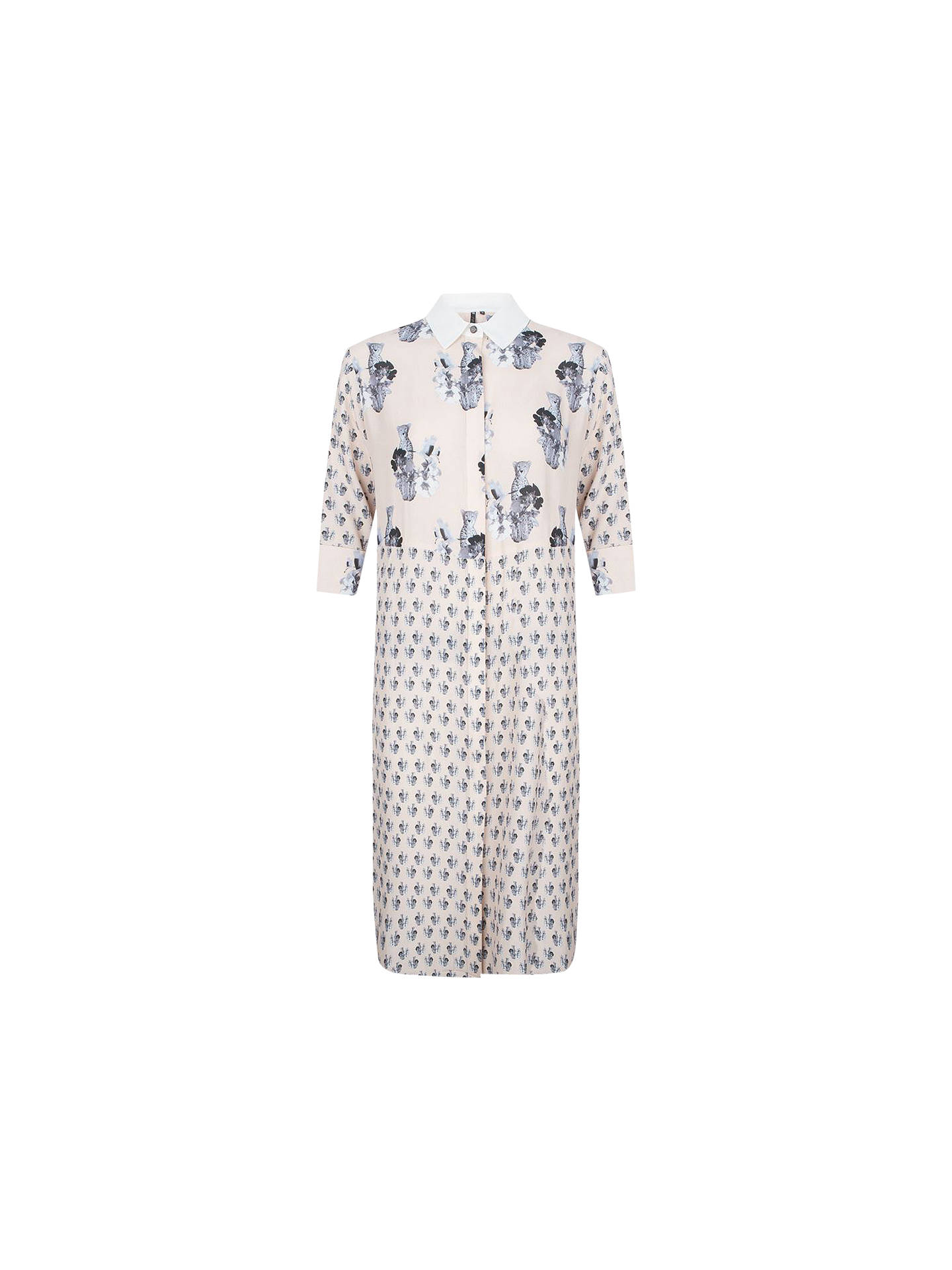 Buy ST Studio Lolie Printed Shirt Dress, Nude, 10 Online at johnlewis.com