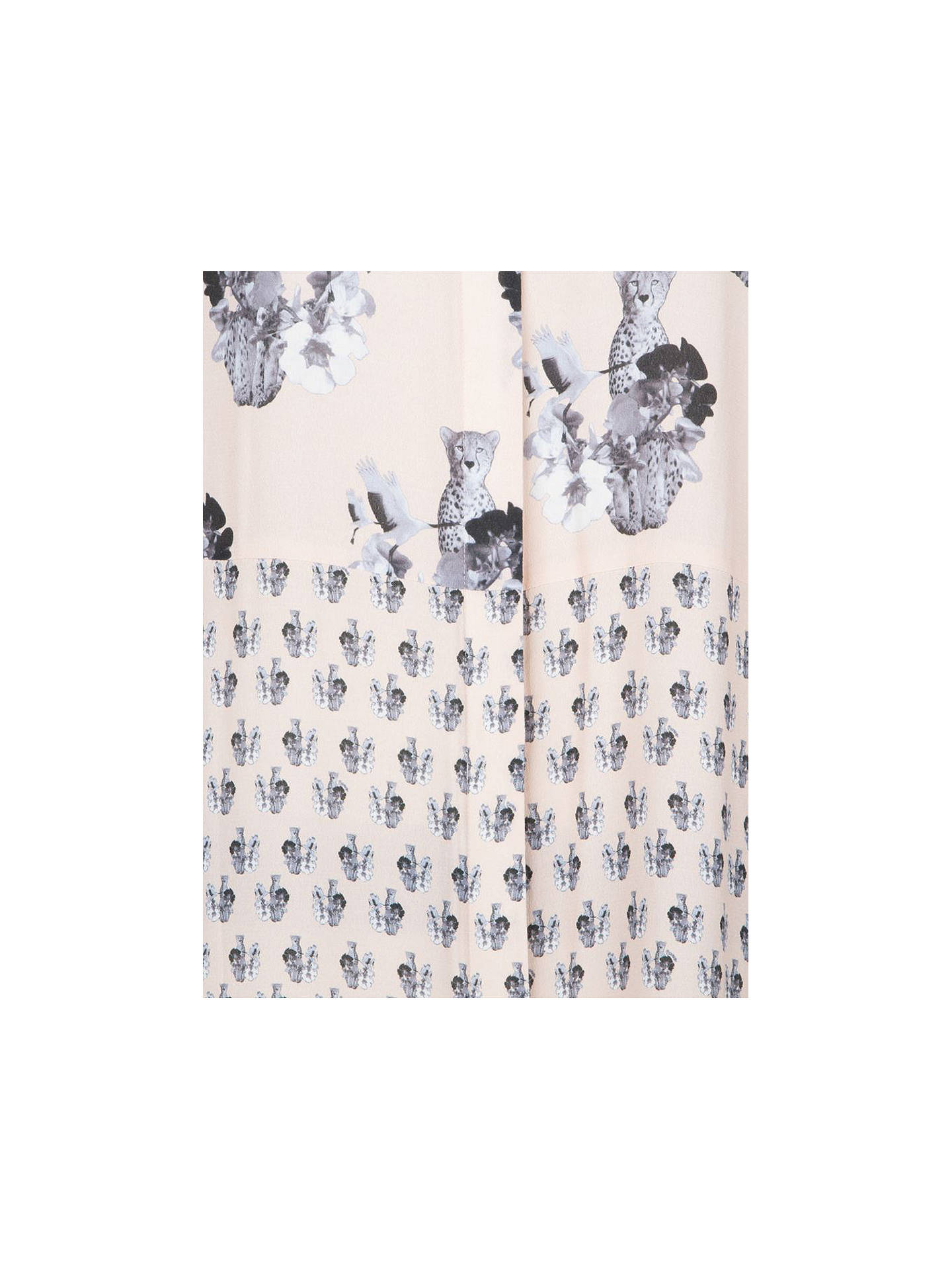 Buy ST Studio Lolie Printed Shirt Dress, Nude, 16 Online at johnlewis.com