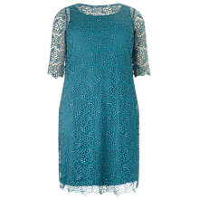 Buy Studio 8 Nicolette Lace Dress, Jade Online at johnlewis.com