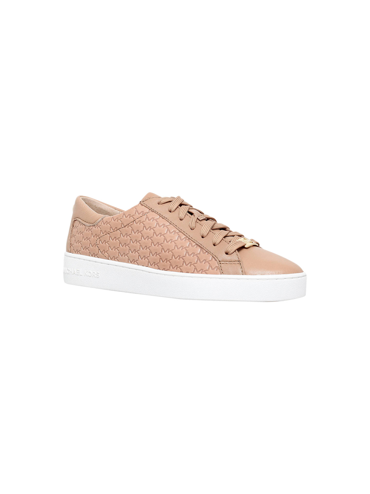 603343ab9096f MICHAEL Michael Kors Colby Lace Up Trainers at John Lewis & Partners