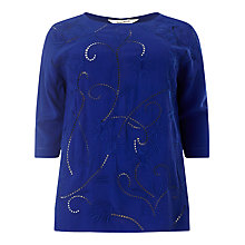 Buy Studio 8 Karlie Top, Cobalt Online at johnlewis.com