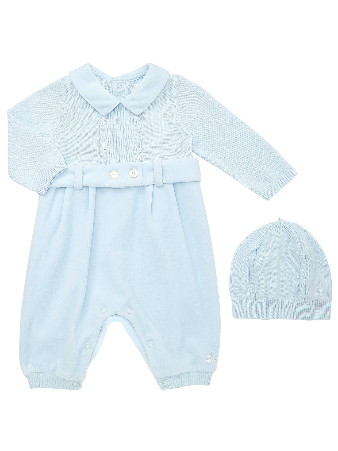 Baby & Toddler Clothing Lower Price with Emile Et Rose Knitted Romper With Hat Size 1 Month