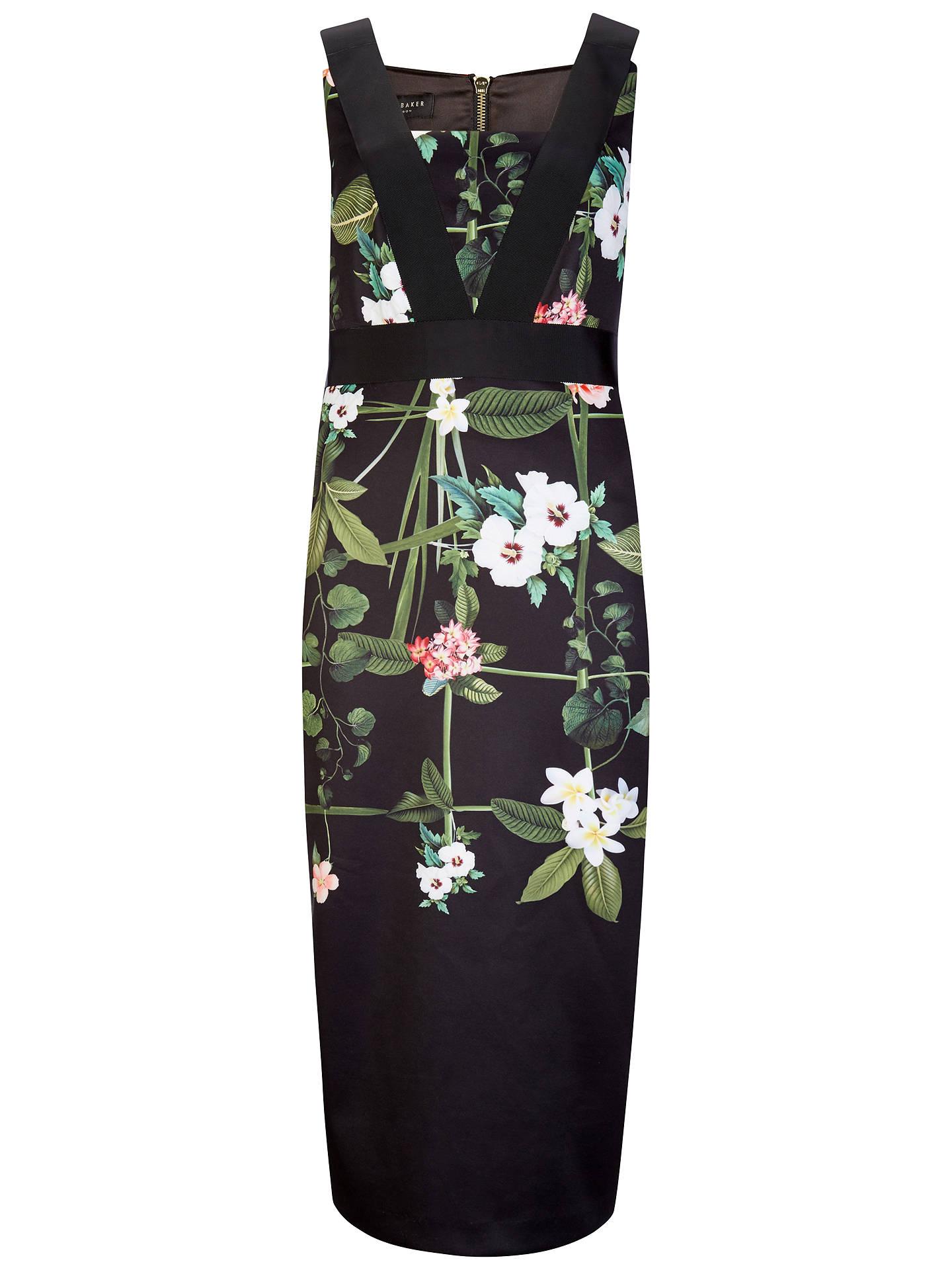9f823fe715904b Buy Ted Baker Kacied Secret Trellis Elastic Dress