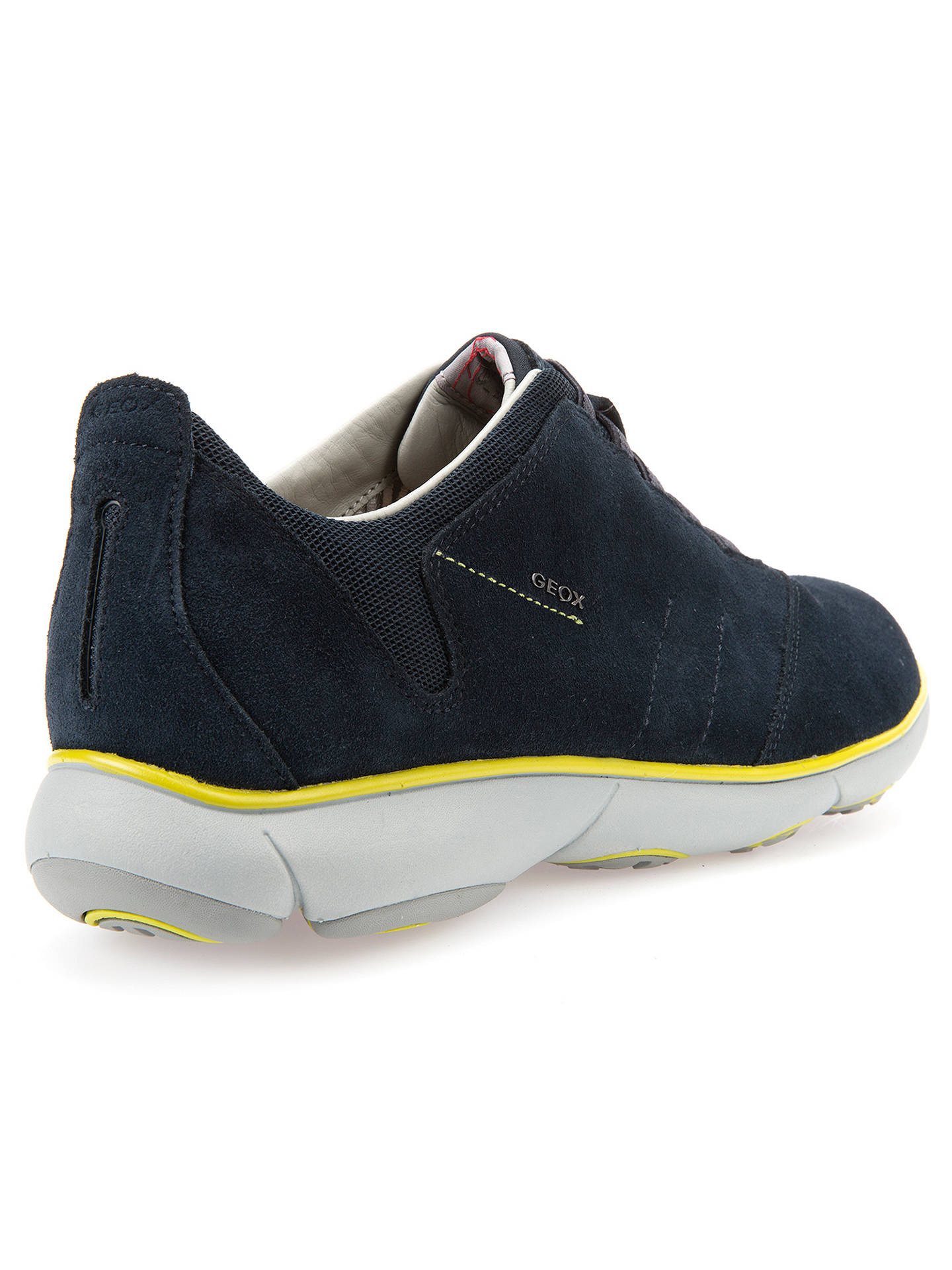 207be1f569 ... Buy Geox Nebula 3D Breathing Trainers, Navy, 7 Online at johnlewis.com  ...