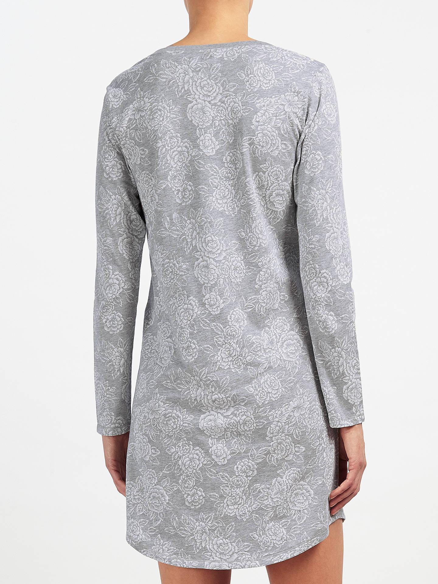 a2f56c9236 BuyJohn Lewis Rose Print Jersey Nightshirt