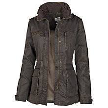 Buy Fat Face Sussex Four Pocket Shell Jacket , Chocolate Online at johnlewis.com