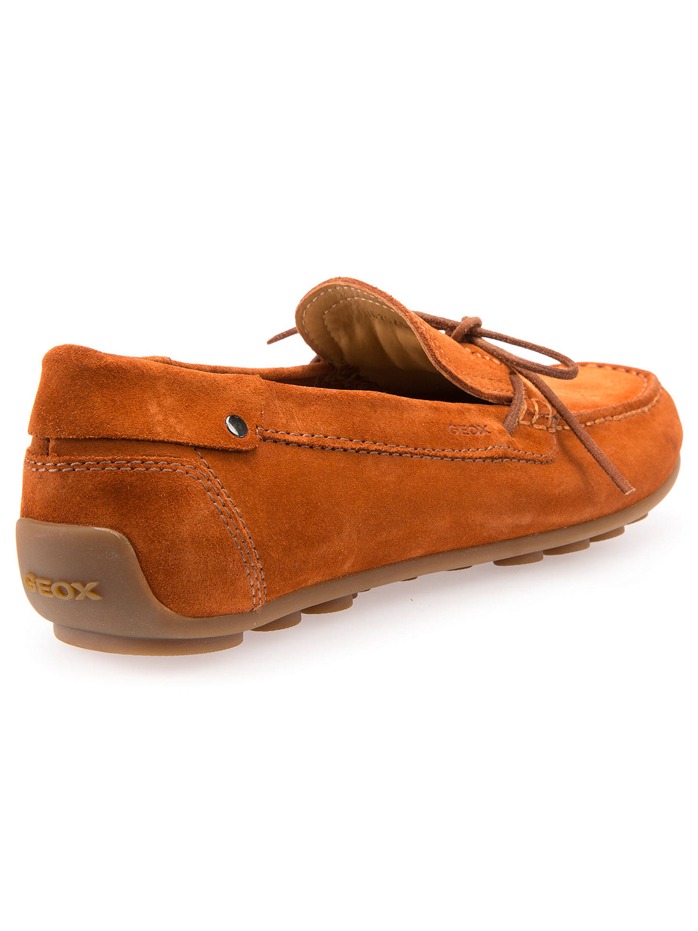 e3e9b76cfbc ... Buy Geox Giona Suede Driving Shoes, Rust, 7 Online at johnlewis.com ...