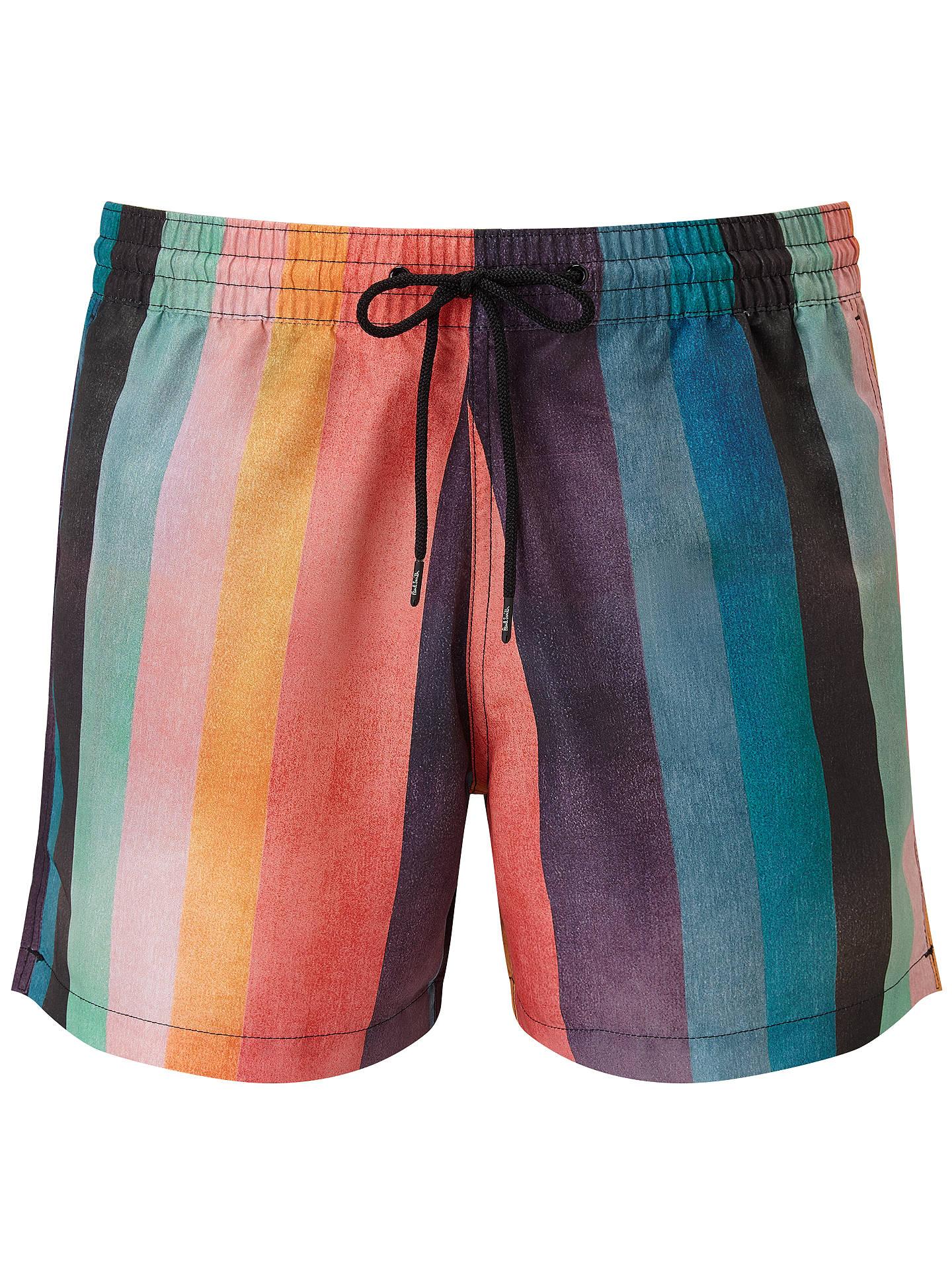 feb451c42b Buy Paul Smith Stripe Swim Shorts, Multi, S Online at johnlewis.com ...