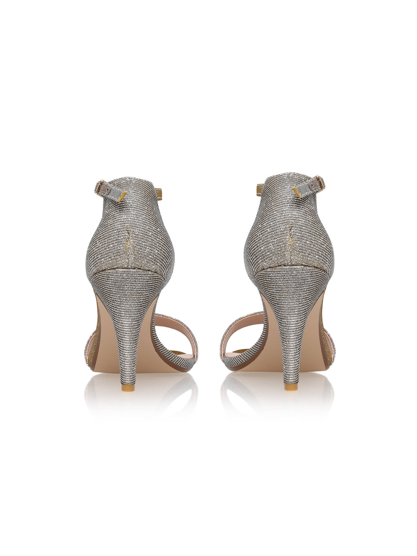 Buy Carvela Kiwi Barely There High Heel Sandals, Bronze, 3 Online at johnlewis.com