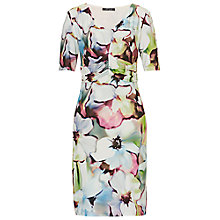 Buy Betty Barclay Orchid Print Jersey Dress, Multi Online at johnlewis.com