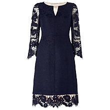 Buy Phase Eight Limited Edition Dress Nine, Navy Online at johnlewis.com