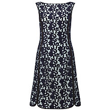 Buy Phase Eight Victoria Lace Dress, Navy Online at johnlewis.com