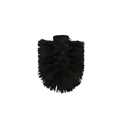 John Lewis Spare Toilet Brush Head, Black
