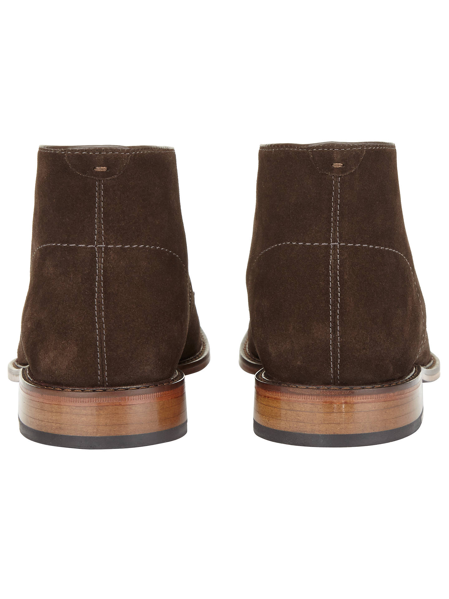 BuyJohn Lewis & Partners Chumbley Suede Chukka Boots, Chocolate, 7 Online at johnlewis.com
