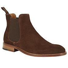 Buy John Lewis Chester Suede Chelsea Boot, Brown Online at johnlewis.com