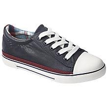 Buy John Lewis Children's Jack Lace Up Shoes, Navy Online at johnlewis.com