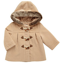 Buy John Lewis Baby Duffel Coat, Camel Online at johnlewis.com