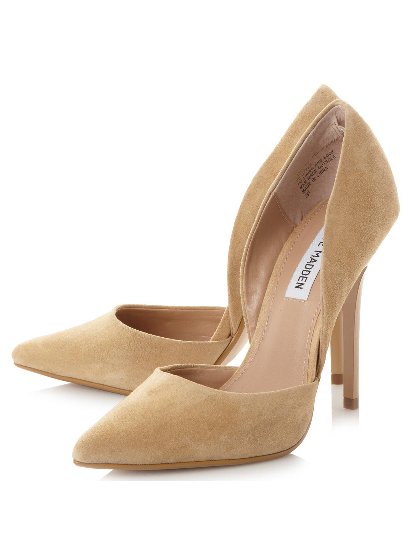 61ef86b9a6d ... Buy Steve Madden Varcityy Cut Out Upper Court Shoes