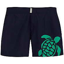 Buy Vilebrequin Meperfo Laser Cut Turtle Swim Shorts, Blue Online at johnlewis.com