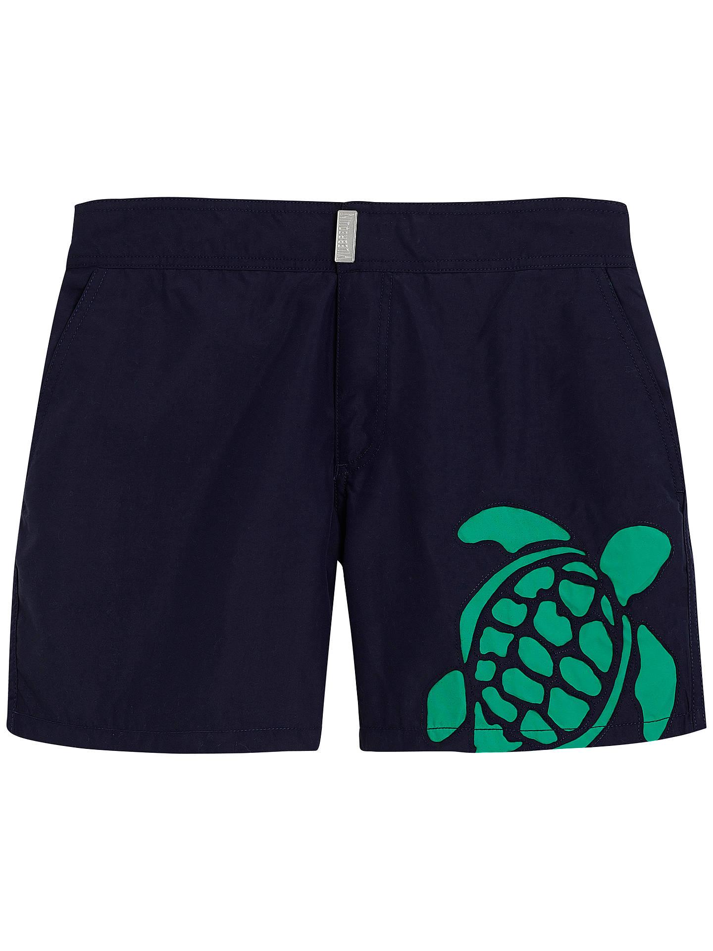 e71cabf75e Buy Vilebrequin Meperfo Laser Cut Turtle Swim Shorts, Blue, M Online at  johnlewis.