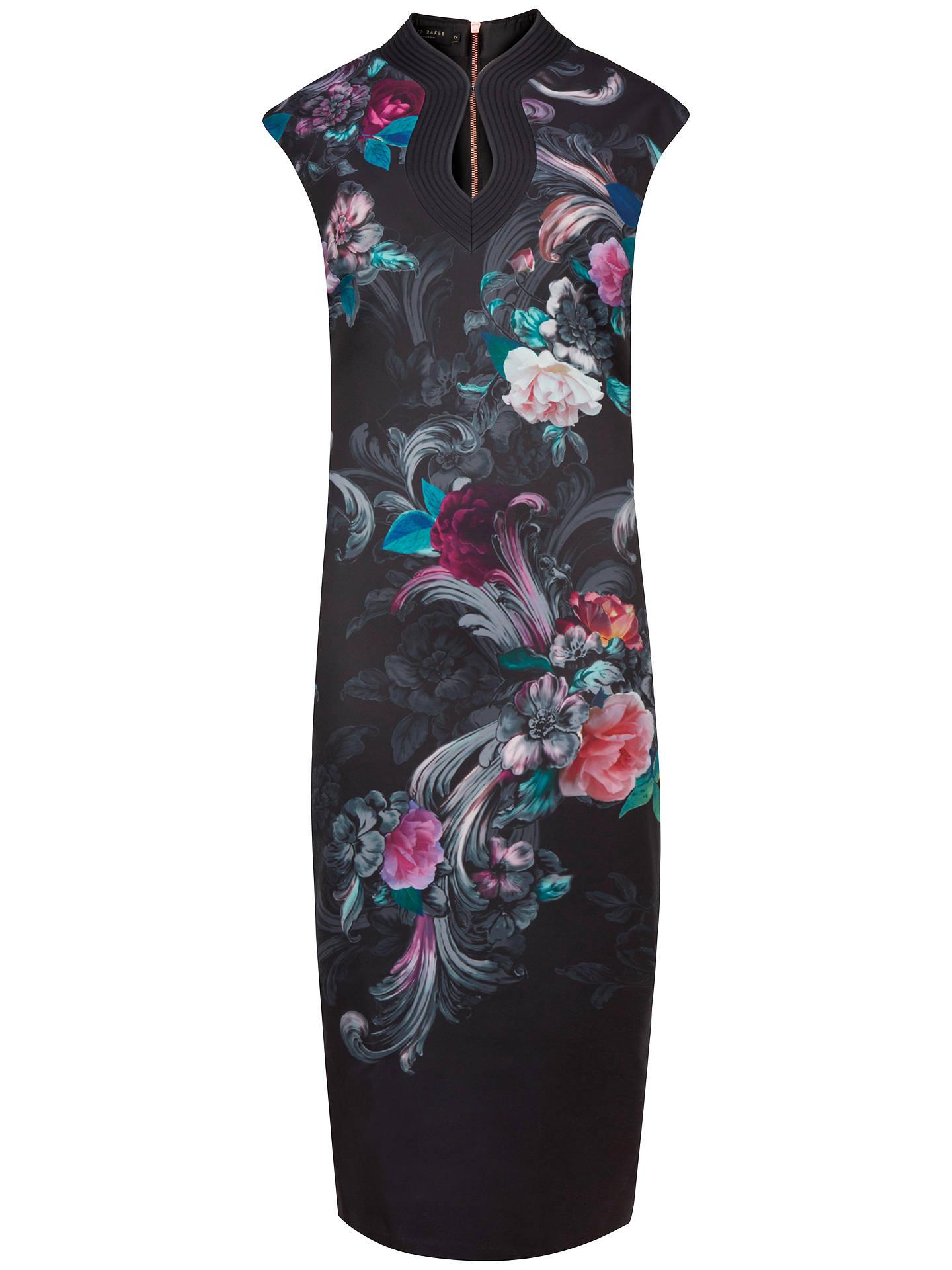 89a7677da028 Buy Ted Baker Marcela Acanthus Scroll Print Dress