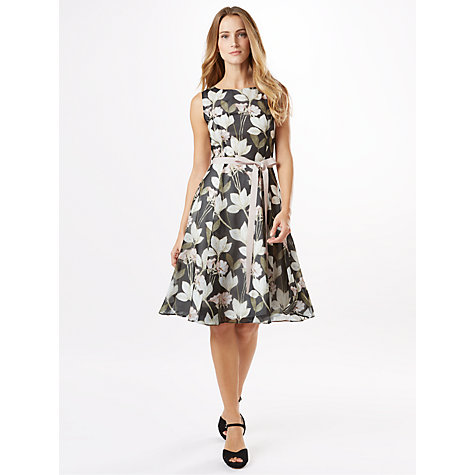 Buy Phase Eight Floris Dress, Graphite Online at johnlewis.com