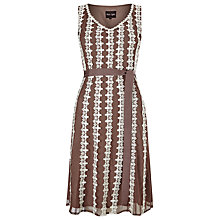 Buy Phase Eight Chessy Lace Dress, Praline/Cream Online at johnlewis.com