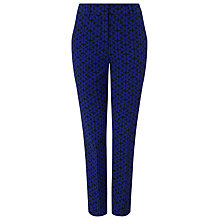 Buy Phase Eight Alice Daisy Trousers, Royal Blue/Black Online at johnlewis.com