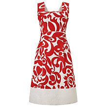 Buy Phase Eight Jubilee Print Dress, Ivory/Red Online at johnlewis.com